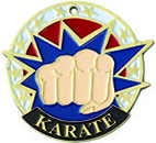 USA  SPORTS KARATE MEDAL
